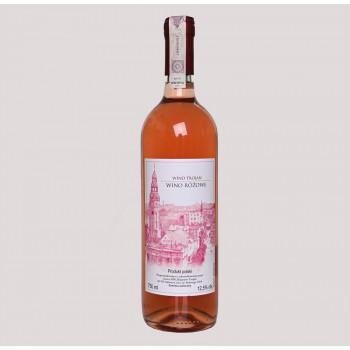 Winnica Trojan - wino różowe 2018