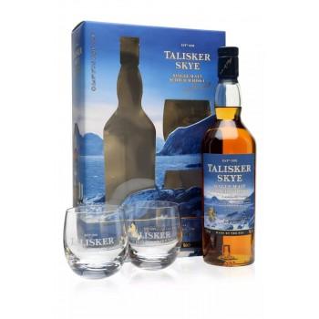 Talisker 10YO + 2 szklanki