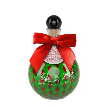 Wódka świąteczna bombka czerwono- zielona 2020