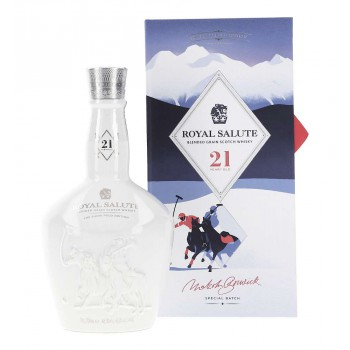Chivas Regal Royal Salute 21 The Snow Polo Edition