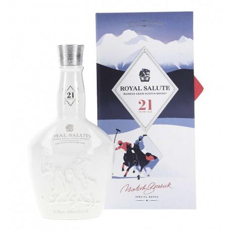 Chivas Regal Royal Salute 21 The Snow Polo Edition