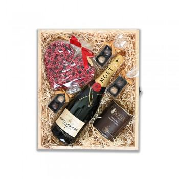 Zestaw upominkowy z szampanem MOET & CHANDON IMPERIAL