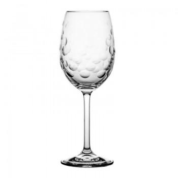 Kieliszki do wina kryształowe Aeris 6 sztuk