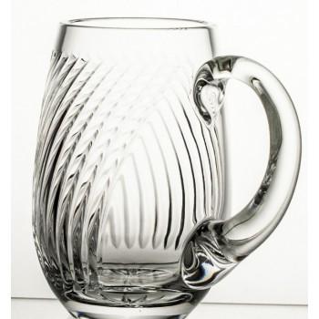 Kufel kryształowy do piwa Linea