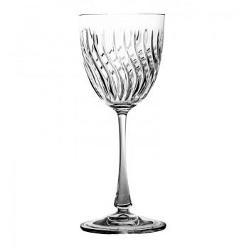 Kieliszki do wina kryształ Linea 6 sztuk