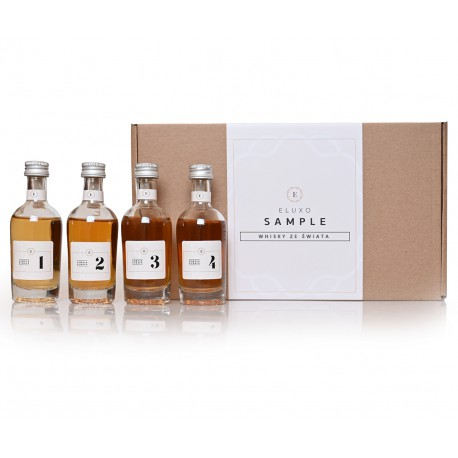 Whisky ze świata - SAMPLE 4 x 50 ml