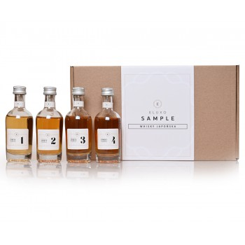 Whisky japońska - SAMPLE 4 x 50 ml