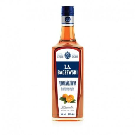 J.A. Baczewski Vodka Pomarańczówka 0.5l 38%