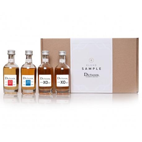 Dictador Rum- sample 4x 50ml