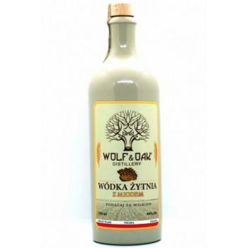 Wódka Żytnia z Miodem Wolf&Oak