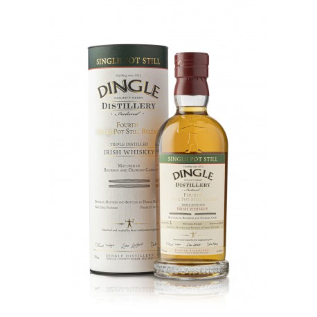 Dingle Fourth Release Single Pot Still Irish Whiskey