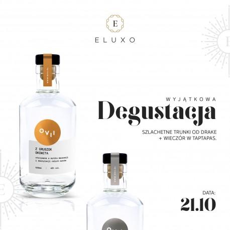 Degustacja polskich alkoholi od Drake Distillery 21.10 19:00