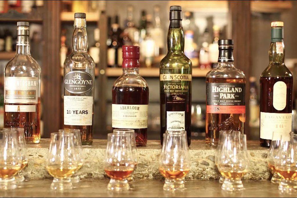 szkocka whisky regiony