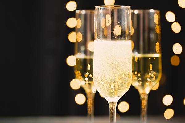 resztki szampana